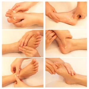 feet collage